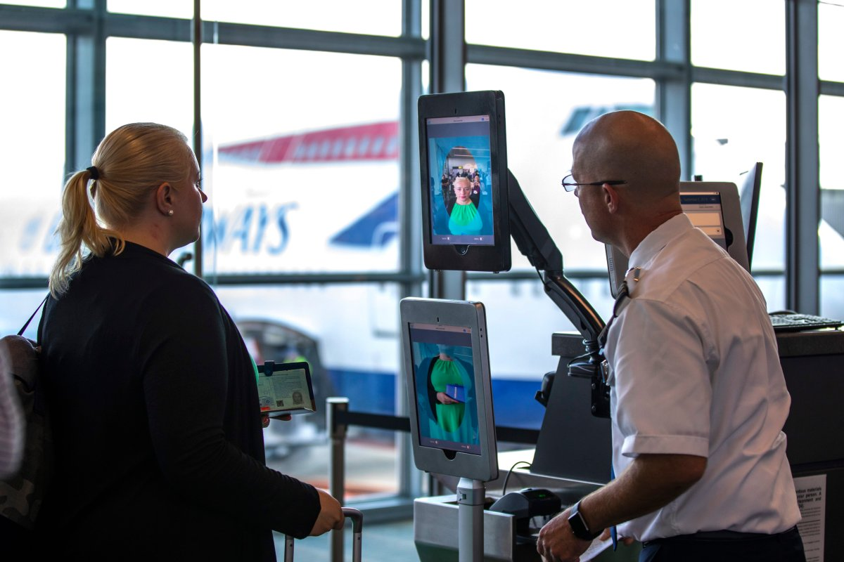 Facial Recognition Airports